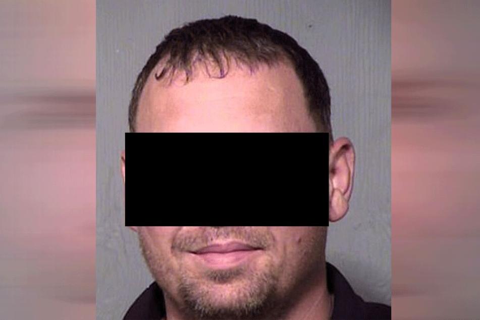 Michael N. (40) wurde auf frischer Tat ertappt.