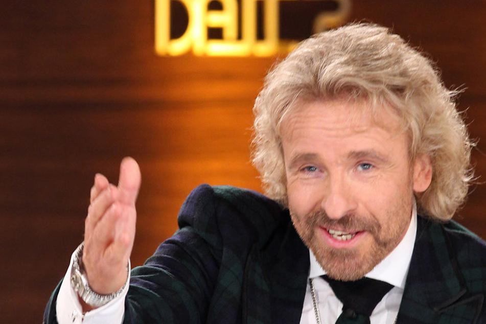 """Am 2. September kehrt Gottschalk mit seinem Showklassiker """"Wetten, dass..?"""" wieder ins Fernsehen zurück ."""