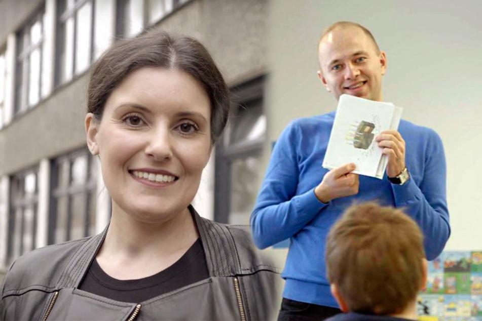 Ausgang offen: Mit den Erfolgsgeschichten von Francesca Gregori und Piotr Mlynarczyk versucht das Ministerium, ausländische Lehrer  anzulocken.