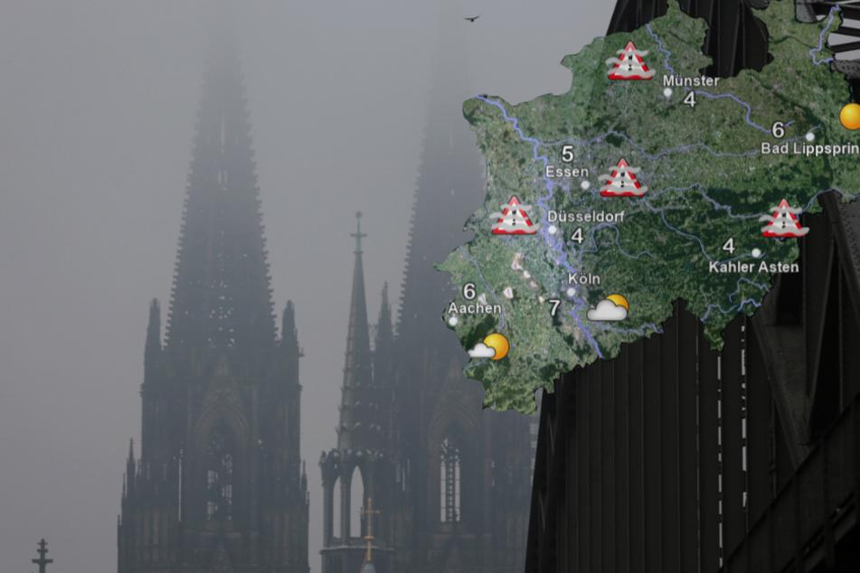 Kein Winterzauber: Milde Temperaturen und Nebel in NRW