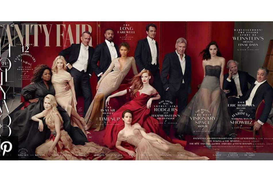 Das Foto der Vanity Fair sorgt derzeit im Netz für große Heiterkeit.