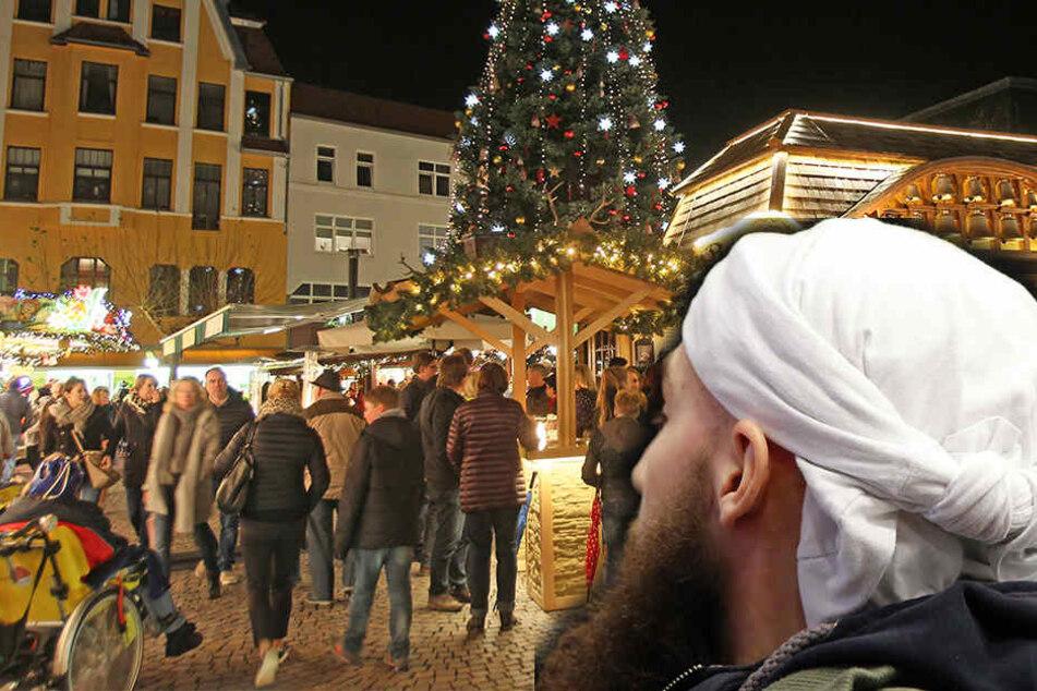 Am 27. Dezember drohte ein 23-Jähriger eine Bombe auf dem Herforder Weihnachtsmarkt zu zünden. (Symbolbild)