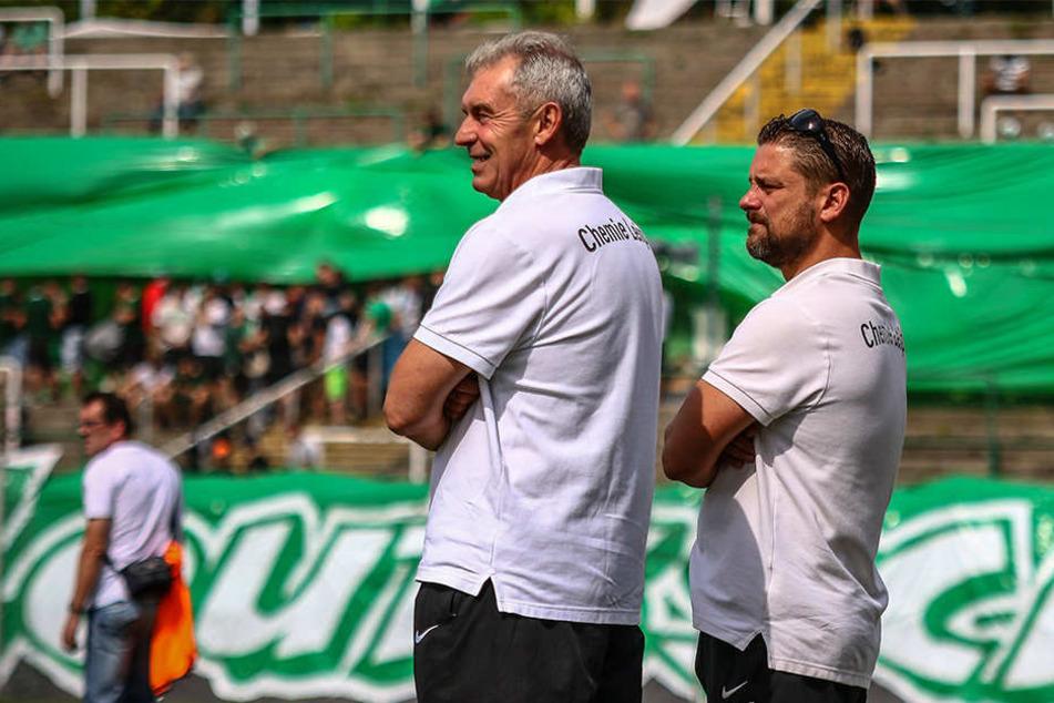 Trainer Dietmar Demuth hat sich einige Trainingsgäste eingeladen, um den Kader zu verstärken.