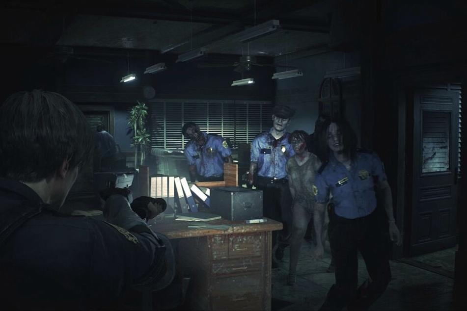 """""""Resident Evil 2"""" ist zurück und schickt euch einmal mehr in den virtuellen Kampf gegen die Zombiehorden."""