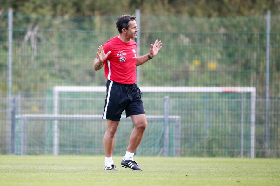 Das Derby ist das vierte Spiel für Dirk Schuster als Trainer des FCE. Sein Heimdebüt gewann er gegen Osnabrück, nun soll der zweite Sieg folgen.