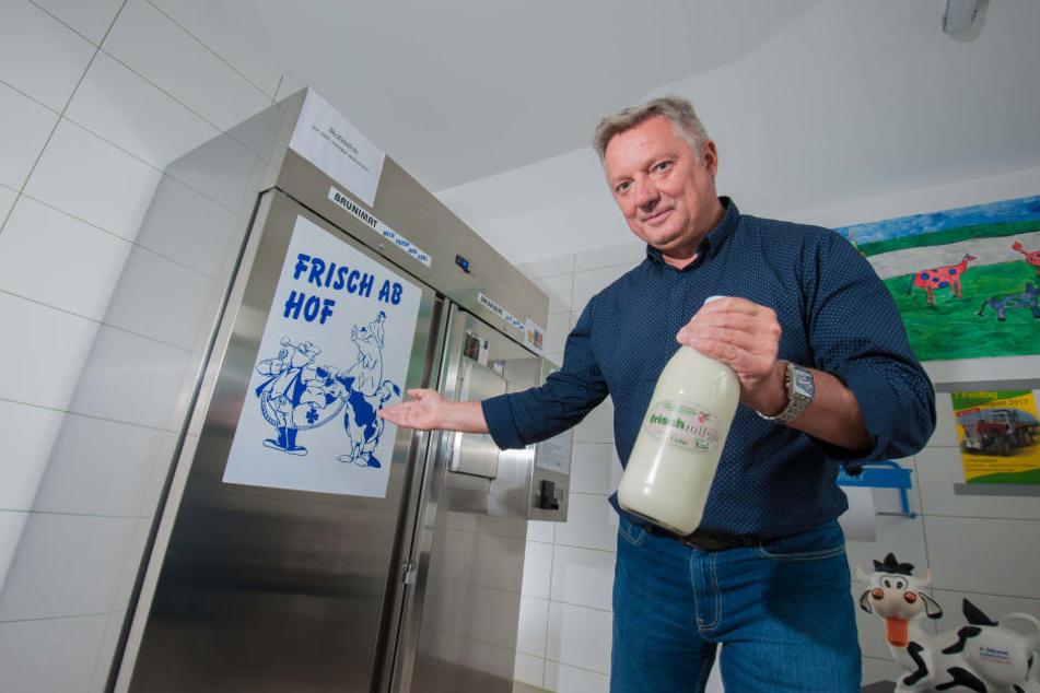 """Jens Hoffmann (54) vom Wirtschaftshof """"Sachsenland"""" warnt vor Panikmache."""
