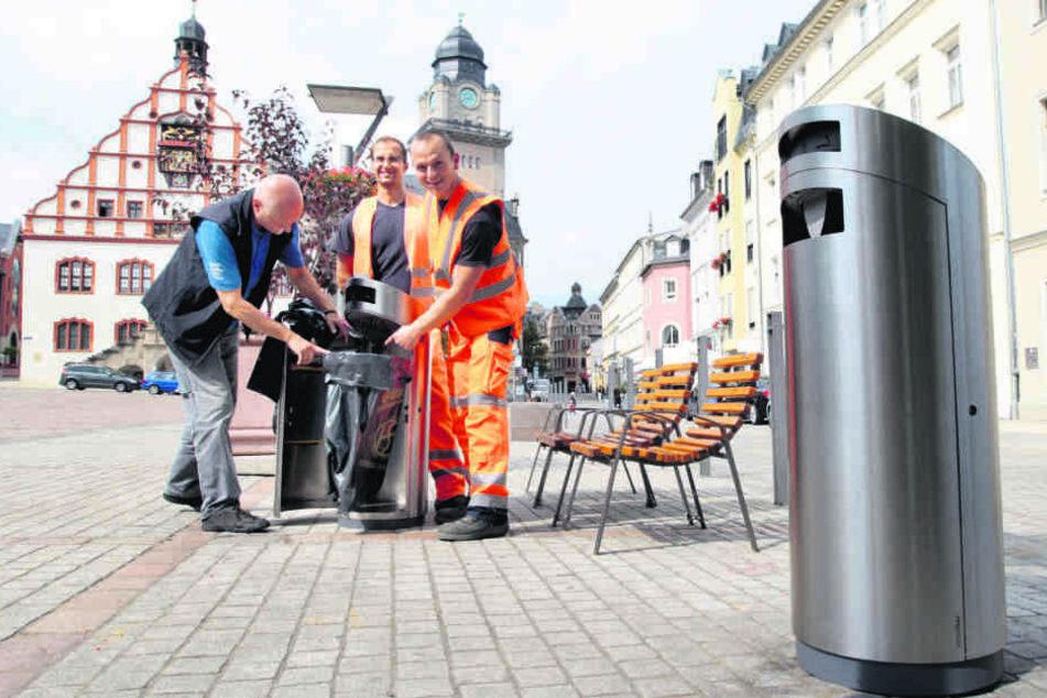 """Intelligenter """"Abfallhai"""" sagt Müll den Kampf an"""