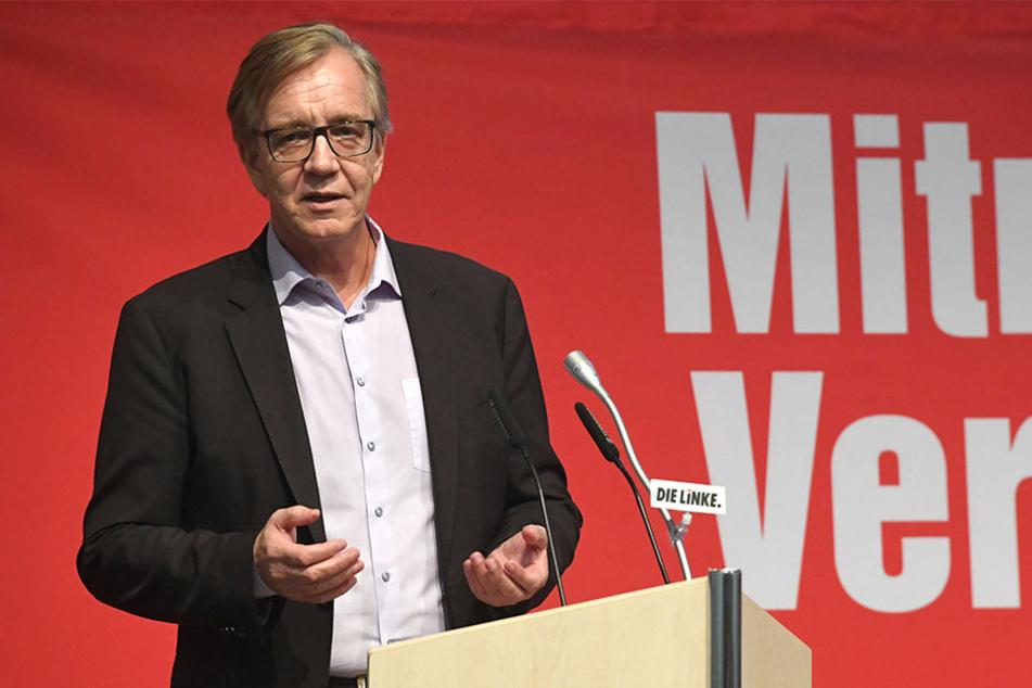 Linken-Fraktionsvorsitzender Dietmar Bartsch (59) lehnt einen konkurrierenden Wettlauf mit der AfD ab.