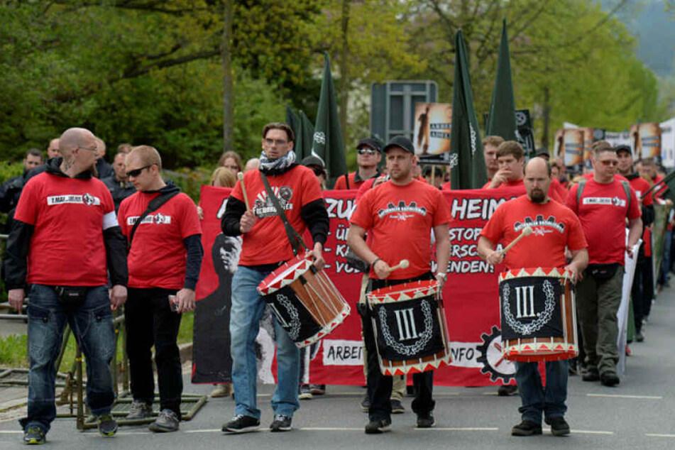 """Die Partei """"Der III. Weg"""" will am 1. Mai durch Chemnitz marschieren."""