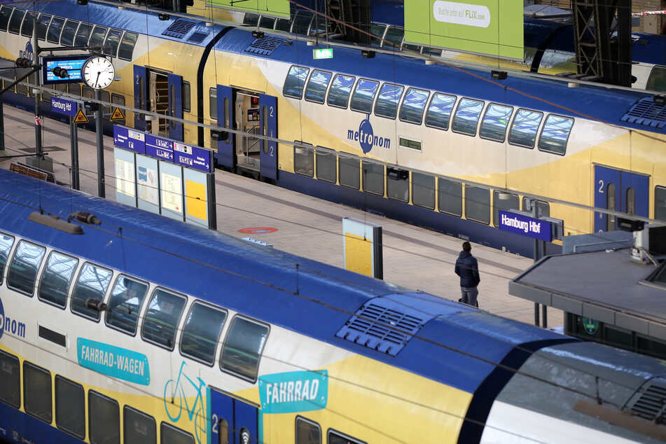 Hamburg: 19-Jähriger zieht im Zug blank und beleidigt Fahrgäste