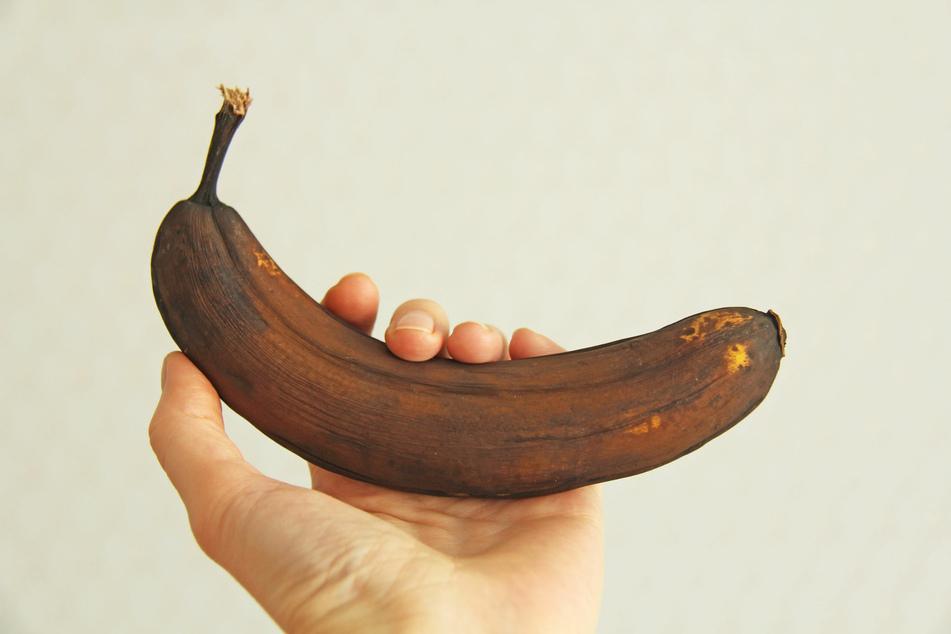 Reife Bananen eignen sich perfekt zum Backen von Plätzchen ohne Zucker.