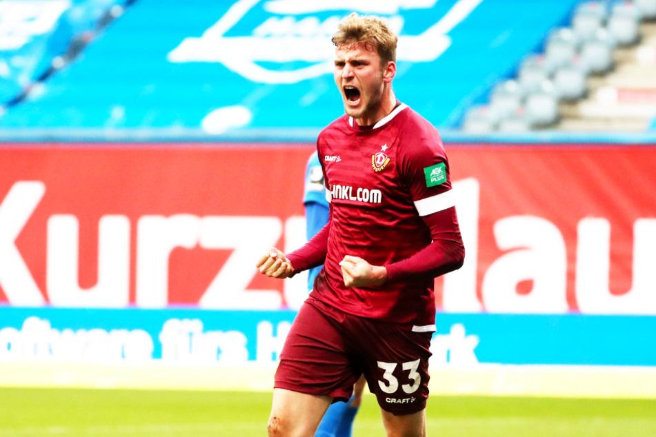 Christoph Dafener (22) freut sich über den Zusammenhalt der Dynamos.