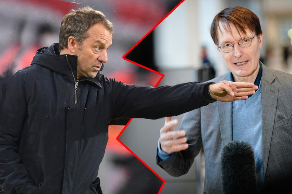 Corona-Zoff mit Bayern-Trainer Flick: Politiker Lauterbach plant persönliches Gespräch