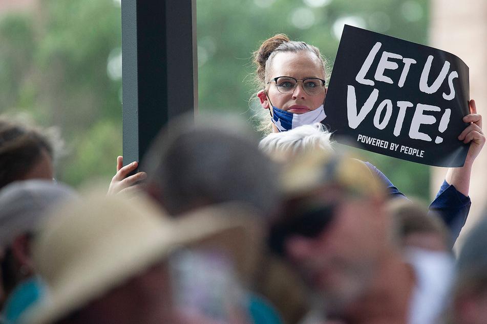 Texas Republicans advance restrictive voting measures as Democrats scramble to fight back