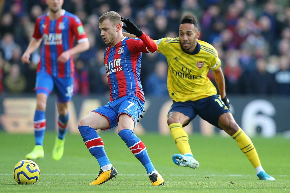 Bilder wie diese gab es in dieser Saison noch nicht. Max Meyer (25) im Trikot auf dem Platz für den derzeit Tabellenelften der englischen Premier League.