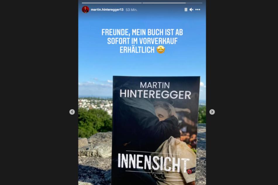 In seiner Instagram-Story ließ der Eintracht-Frankfurt-Abwehrboss seine Fans nochmal einen genaueren Blick auf sein Erstlingswerk werfen.