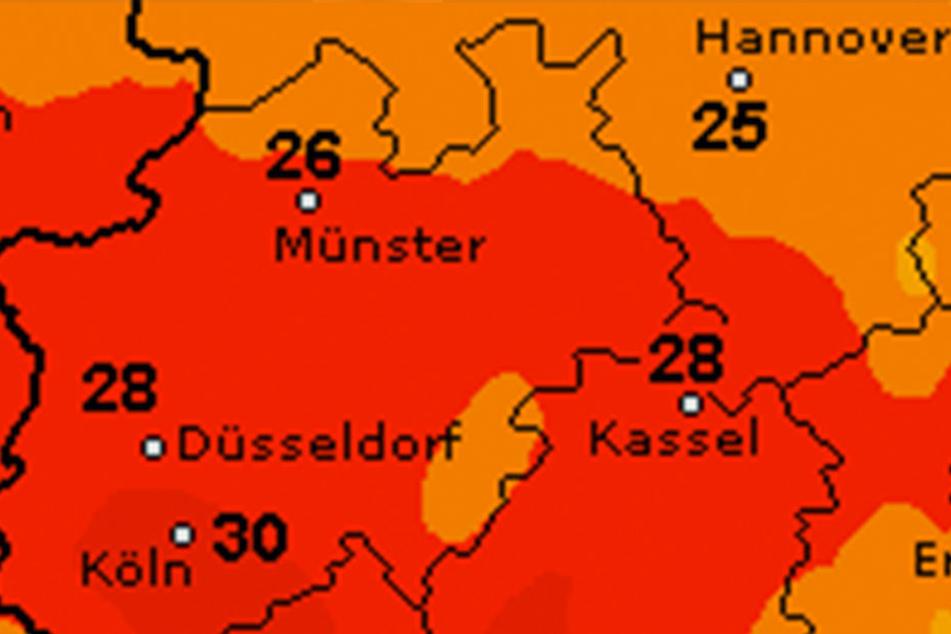 Wieder wärmer: So sieht der Donnerstag in Ostwestfalen-Lippe aus.