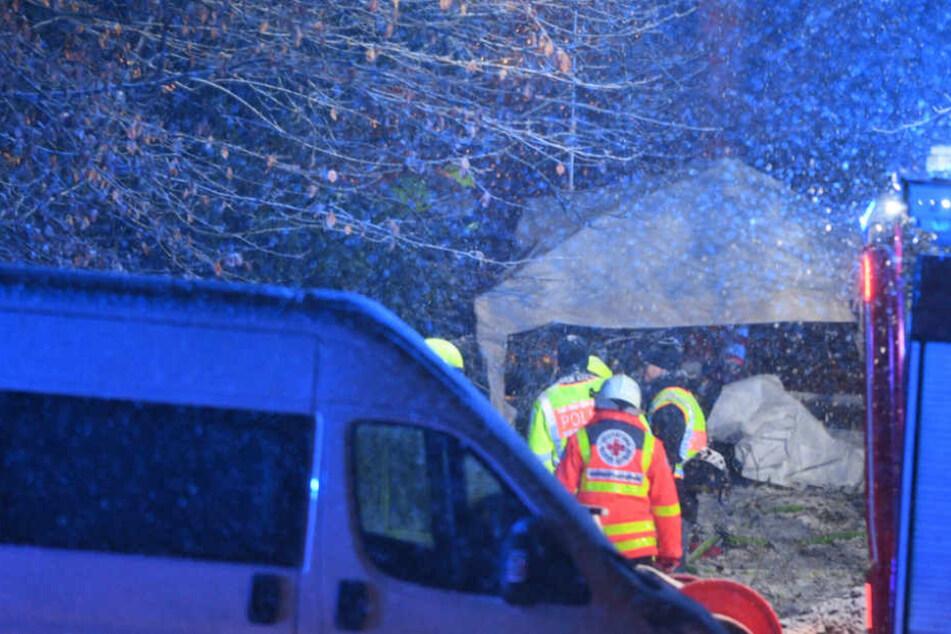 Drei Tote wurden an der Absturzstelle entdeckt.
