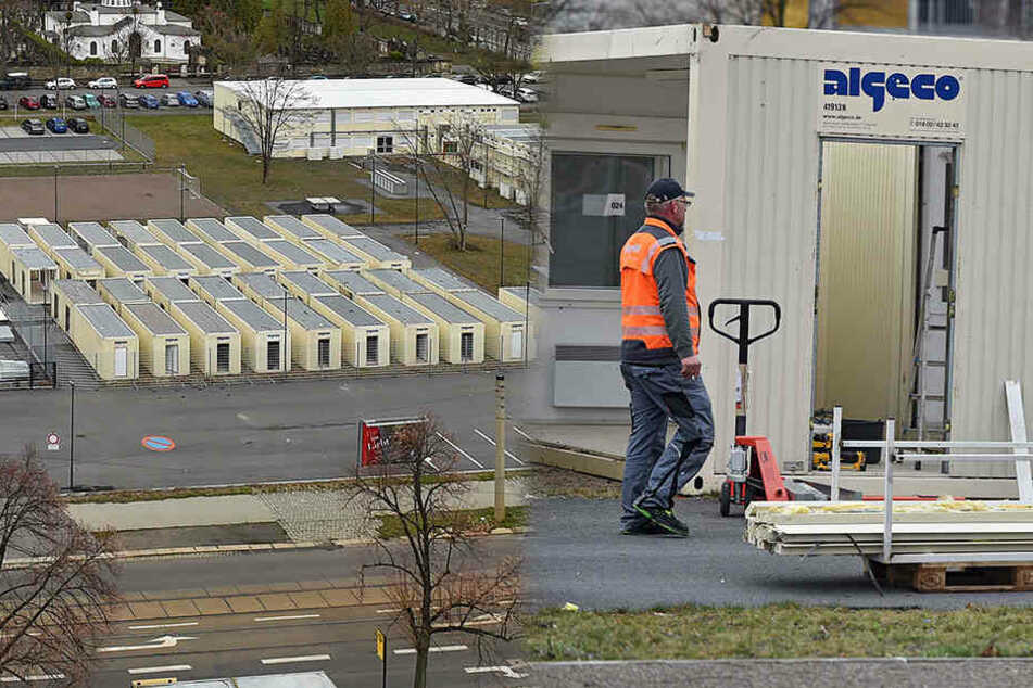 Zu wenig Asylbewerber: Das passiert jetzt mit dem Containercamp in Johannstadt