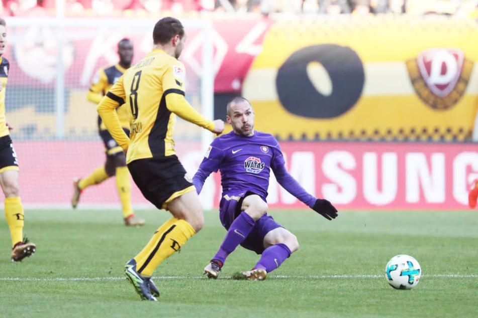 """Das Spiel gegen Dynamo am Sonntag ist laut Christian Tiffert die """"Top-3-Niederlage"""" seiner Laufbahn."""