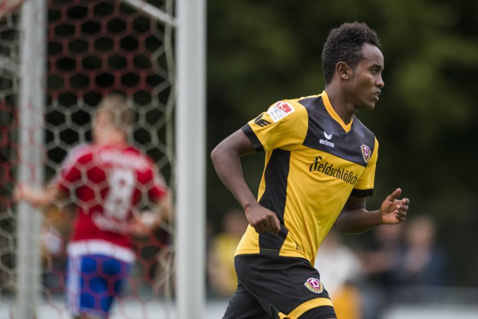 Binyam Belay erhält keinen Vertrag bei Dynamo.