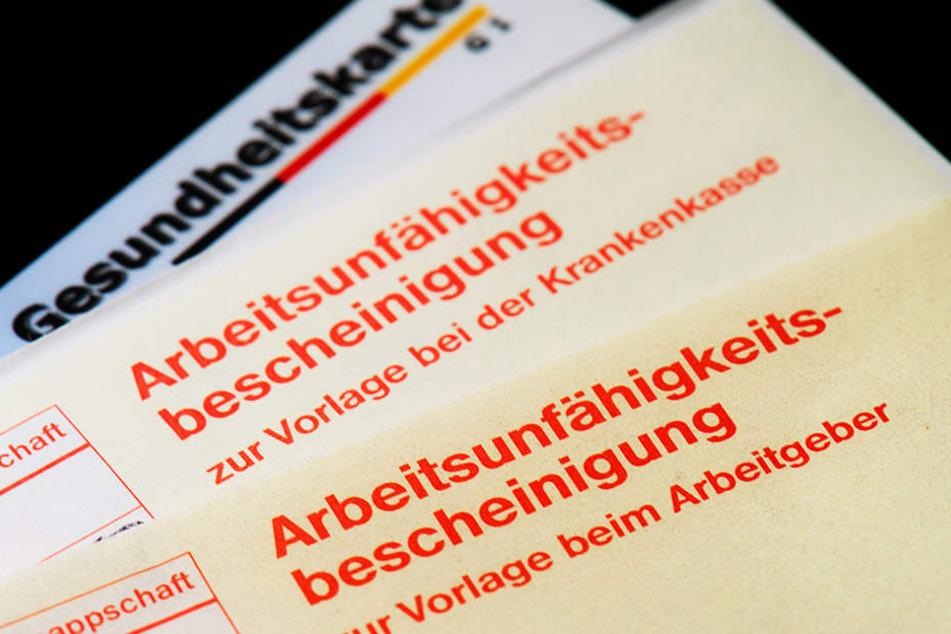 In Nordsachsen wird am häufigsten ein Krankenschein ausgehändigt. Gesünder dagegen sind die Menschen in Dresden.