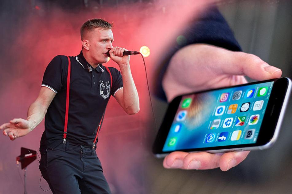 Die Polizei konnte den verdächtigen Handy-Dieb dank der Ortung eines Kraftklub-Fans stellen.