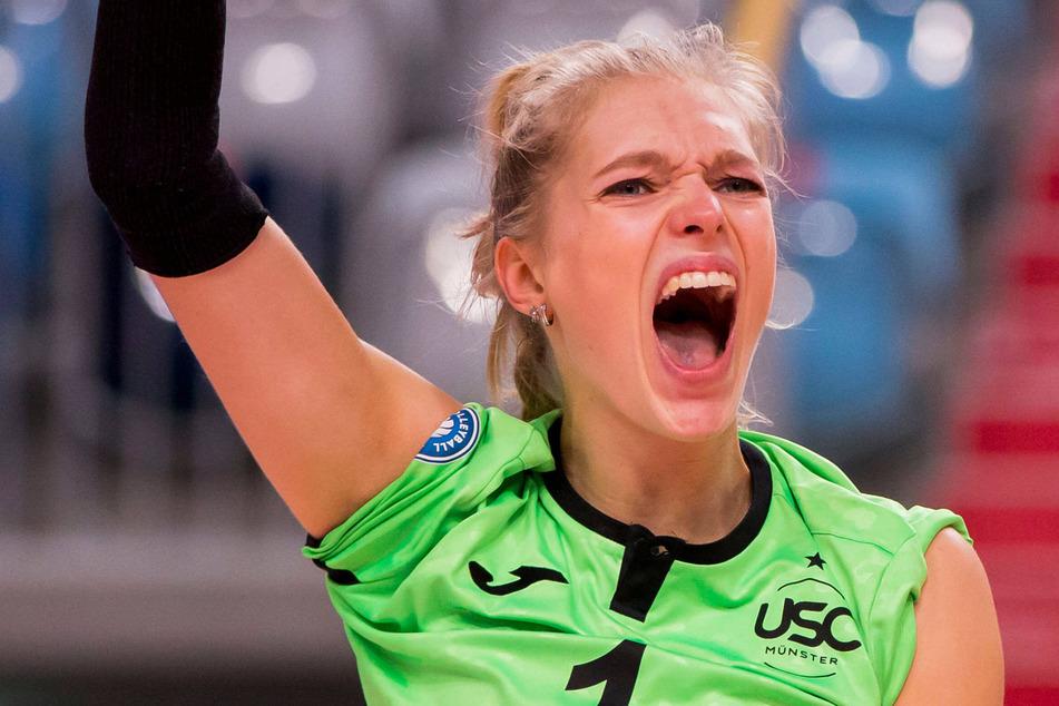 Linda Bock (20) wechselt vom USC Münster nach Dresden.