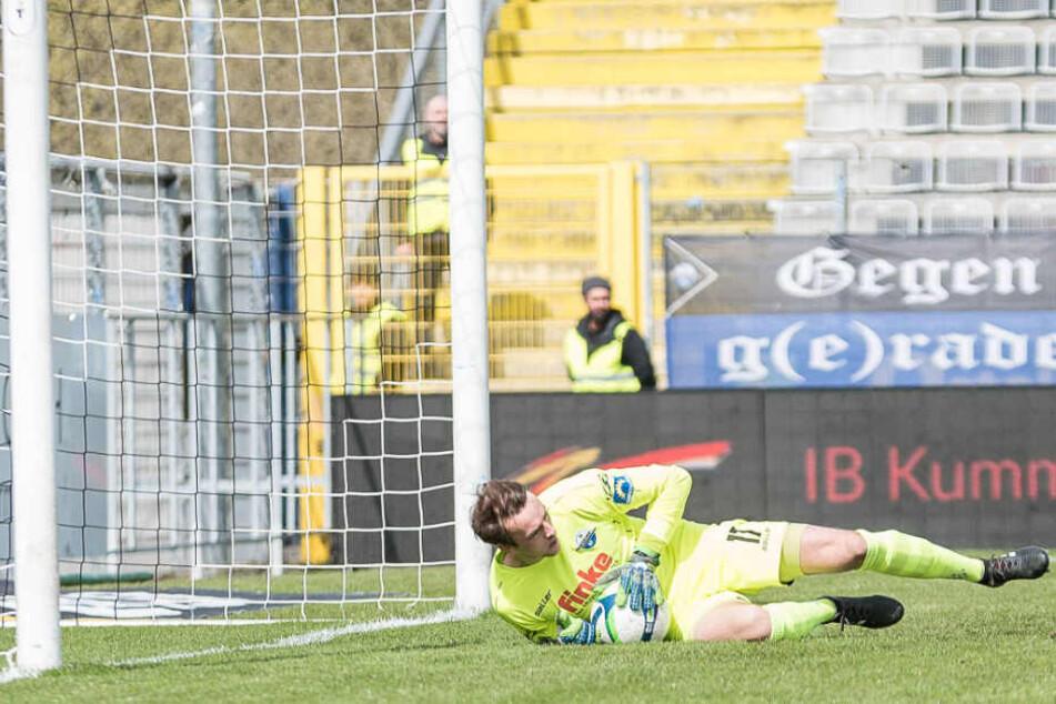 Starker Rückhalt für den SC Paderborn: Leopold Zingerle (23) hielt seinen Club im Spiel.