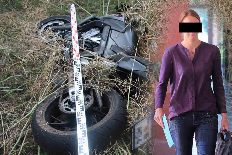 Drama auf dem Weg zum Badesee: Biker stirbt beim Überholen