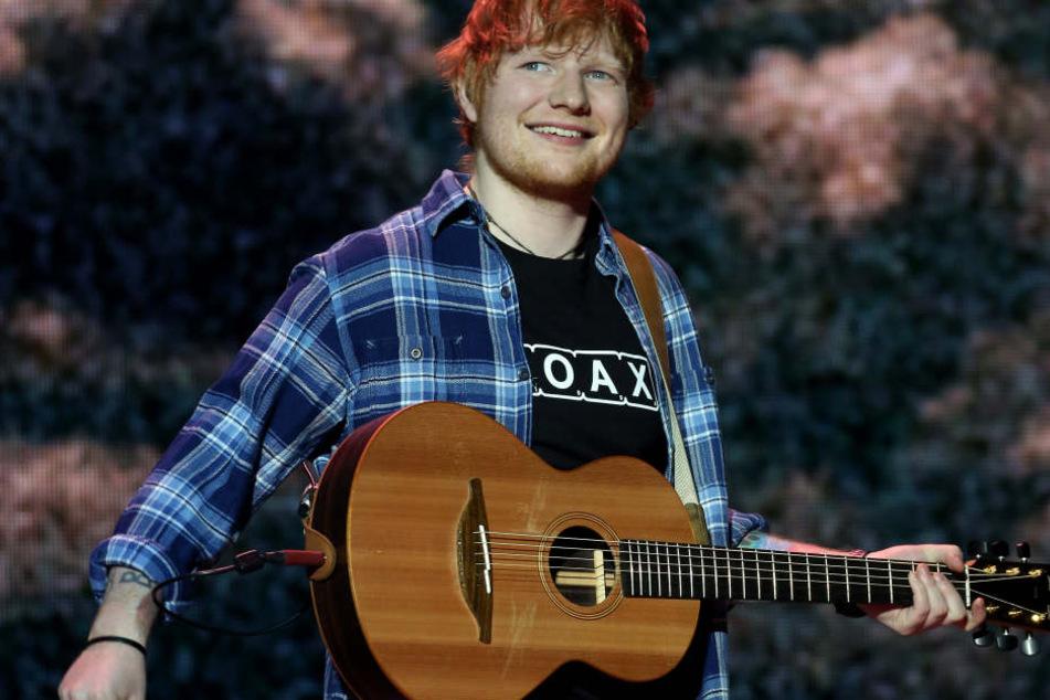 Knallhart abgesagt: Ed Sheeran darf nicht in Düsseldorf auftreten