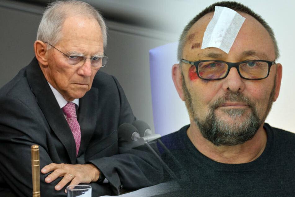 Nach Attacke auf Bremer AfD-Chef: Schäuble warnt vor Instrumentalisierung