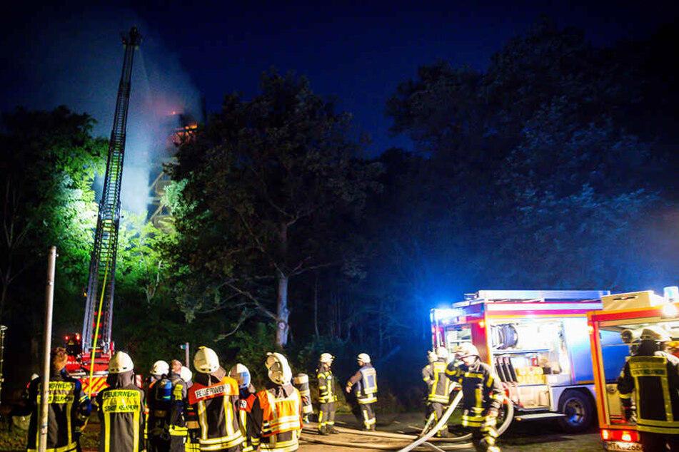 Die Einsatzkräfte konnte das Feuer schnell löschen.
