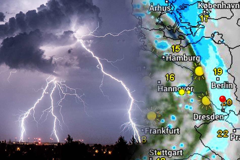 Unwetter-Gefahr! Jetzt rollen Hagel, Sturm und Starkregen auf uns zu