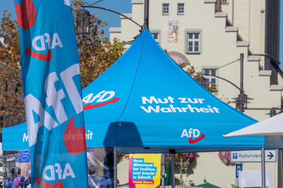 Zwei Info-Stände der AfD waren am Wochenende das Ziel von Linksextremisten. (Symbolbild)