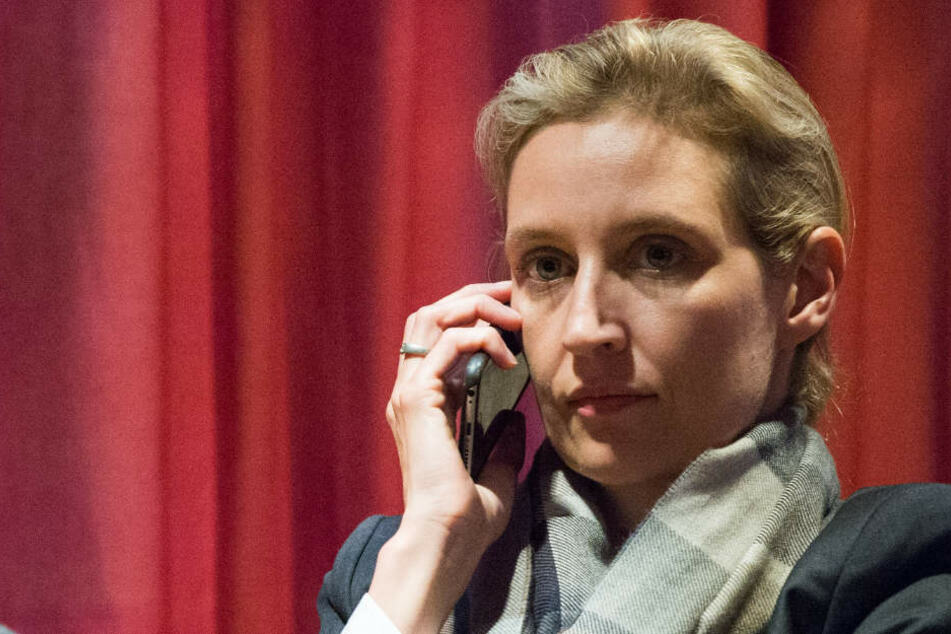 """Es wird versucht, """"intimste Privatsphäre an die Öffentlichkeit zu zerren"""", meint Alice Weidel (38, AfD)."""