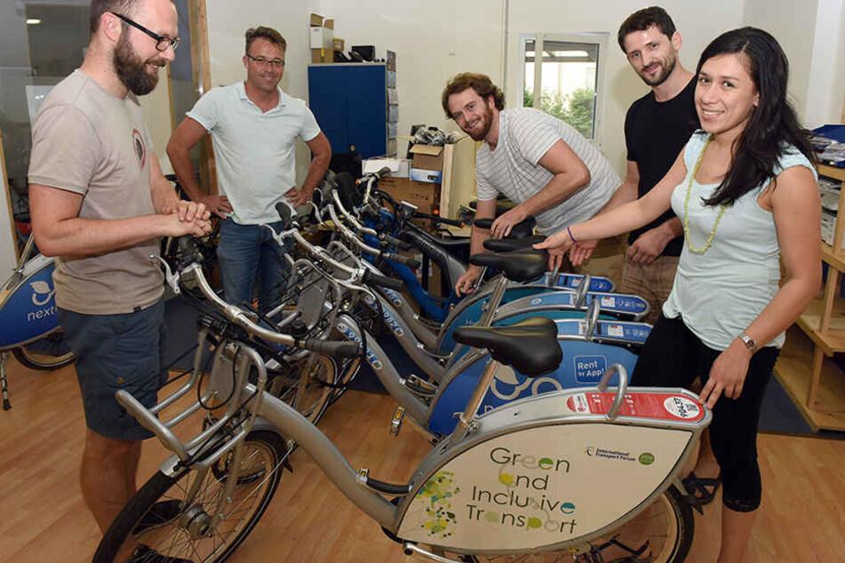 Weltweit etwa 1000 Angestellte hat Nextbike schon. Nirgendwo arbeiten mehr als am Hauptstandort Leipzig.