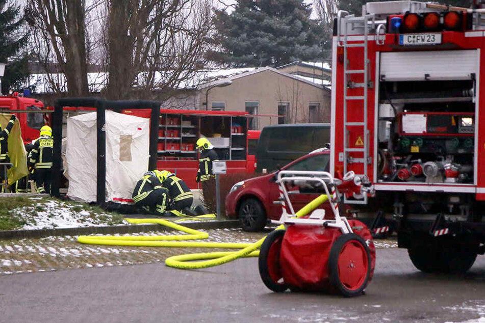 Das Päckchen sorgte für einen Großeinsatz der Feuerwehr in der Jagdschänkenstraße.