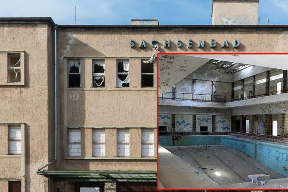 Architekt will aus Sachsenbad wieder Schwimmbad machen