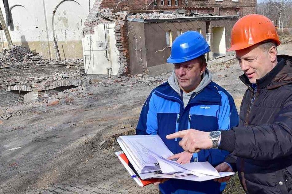 4000 Tonnen Schutt! Alte Sporthalle wird abgerissen