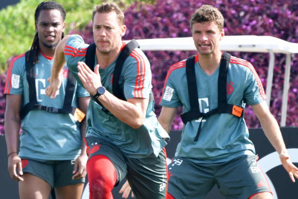 Der FC Bayern München hat sich in Doha auf die Rückrunde vorbereitet. (Archivbild)