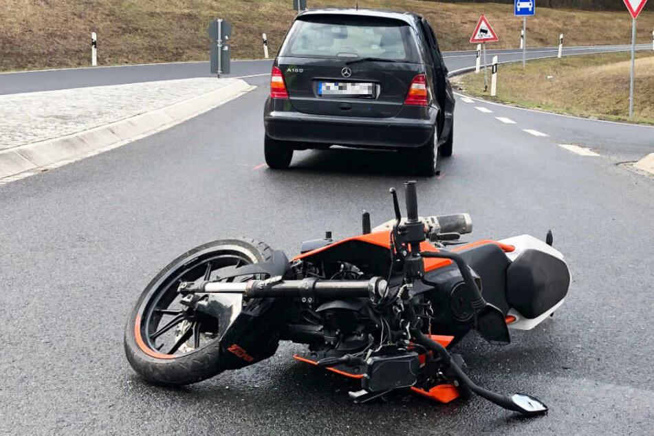 In Bayern ist es am Montagmorgen zu einem schweren Verkehrsunfall gekommen.
