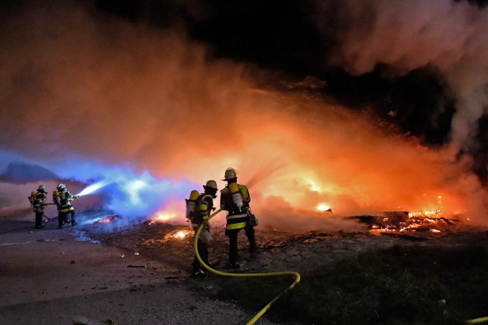 Ein Obdachlosenlager unter der Reichenbachbrücke ist abgebrannt.