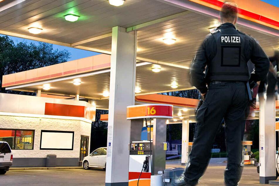 Männer überfallen Tankstelle und bekommen nicht das, was sie wollen