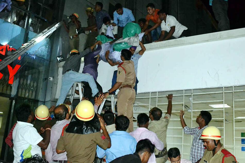 Im Osten Indien starben mindestens 19 Menschen bei dem Brand in einem Krankenhaus.
