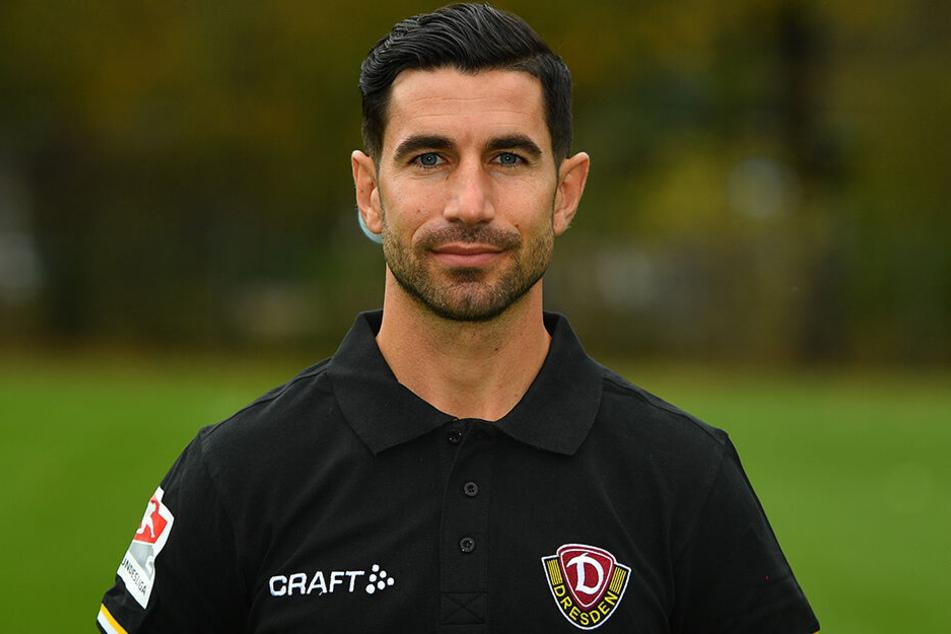 Co-Trainer Ovid Hajou vertrat auf der Pressekonferenz den erkrankten Coach Maik Walpurgis.