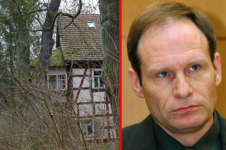 Meiwes tötete eine Internet-Bekanntschaft und aß anschließend Teile seines Körpers (Fotomontage).