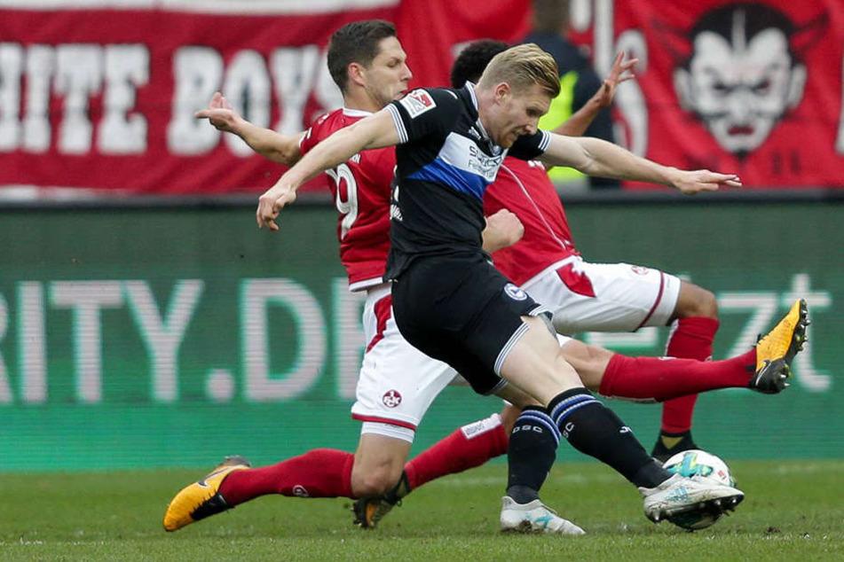Andreas Voglsammer (25) hat in dieser Saison schon sechs Mal genetzt.