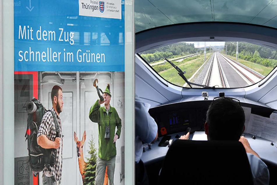 Sprinterstrecke: ICE halten bis zu 80 Mal täglich in Erfurt