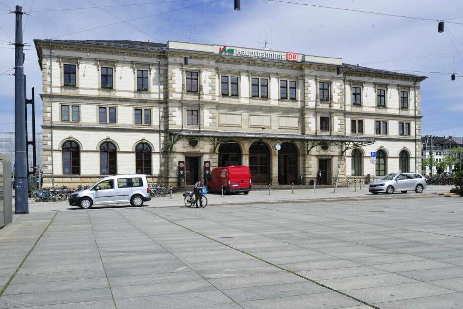 Am Chemnitzer Hauptbahnhof wurde der Gesuchte verhaftet.